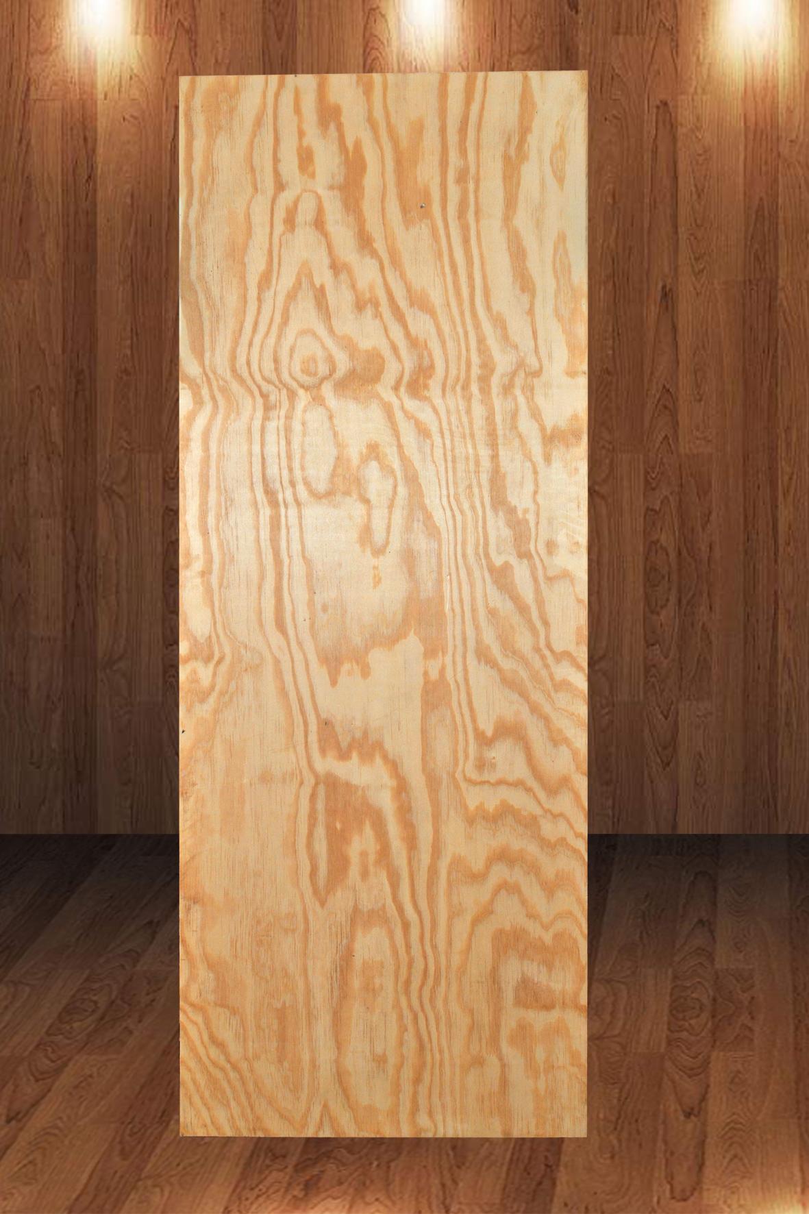 Folha de Porta Laminada de Pinus