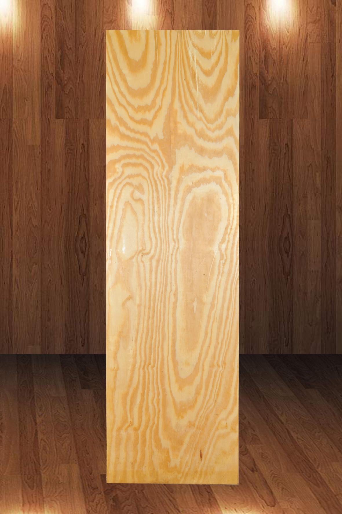 Folha de Porta Laminada de Pinus 2,10 x 0,60