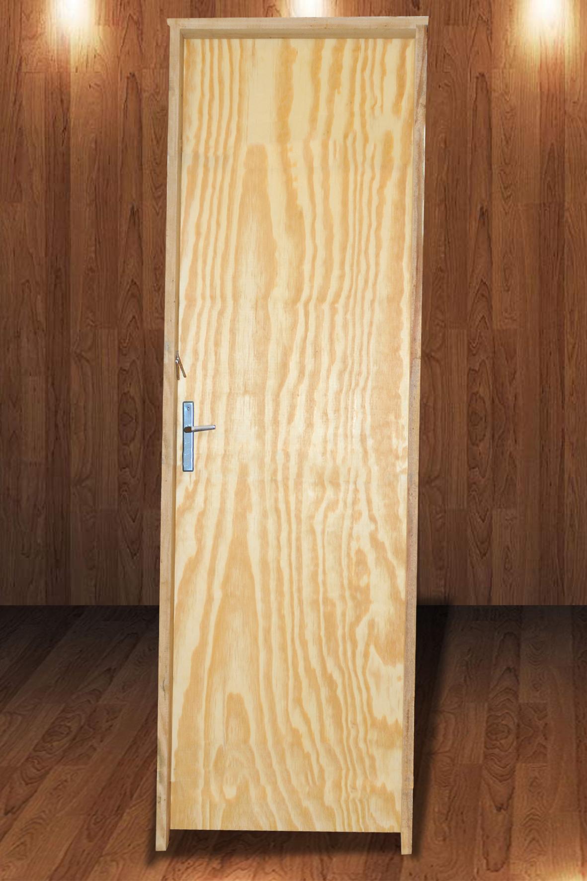 Porta Laminada de Pinus 2,10 x 0,60