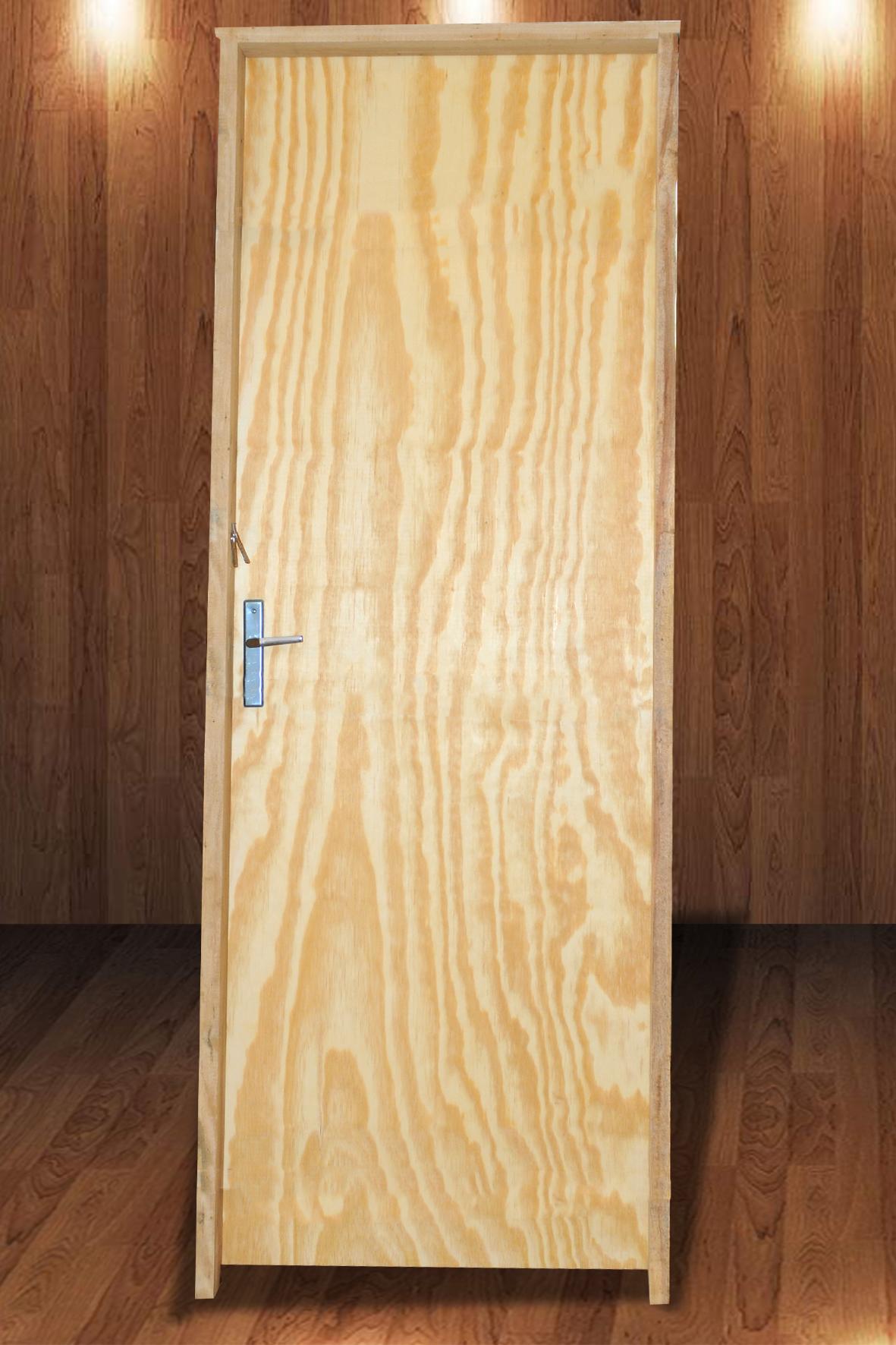 Porta Laminada de Pinus 2,10 x 0,70