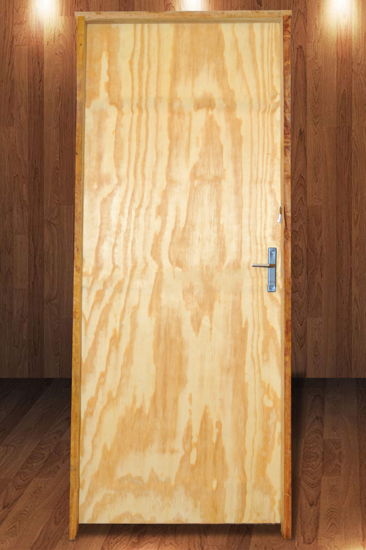 Porta Laminada de Pinus 2,10 x 0,80